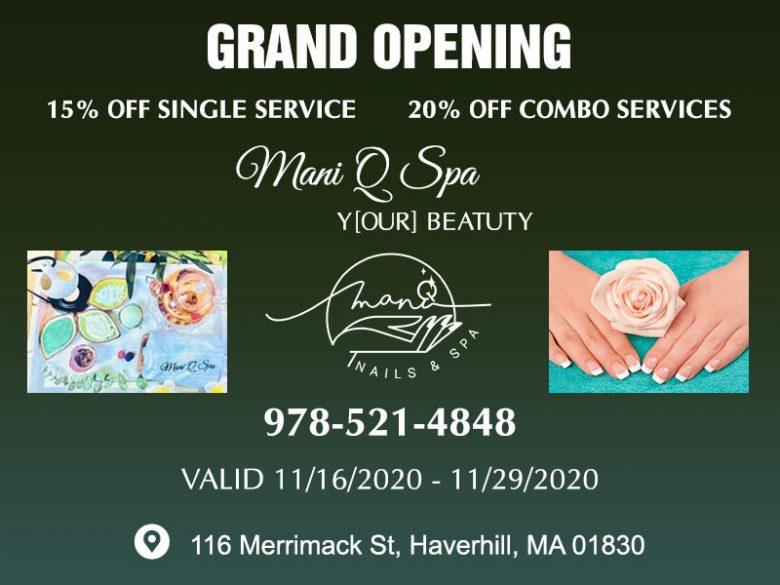 Nail salon in Haverhill MA 01830