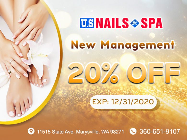US Nails & Spa | Nail Salon 98271