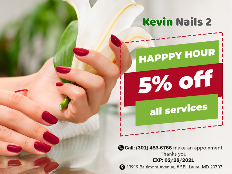 Nail salon in South Laurel Laure MD 20707