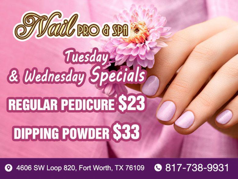 Nail Pro & Spa | Nail salon in Fort Worth, TX 76109 | Organic Manicure, Pedicure, Detox, Acrylic, Dipping Powder, Shellac Nails, Tinting, Waxing