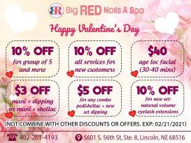 Nail salon 68516 | Big Red Nails & Spa | Lincoln NE 68516