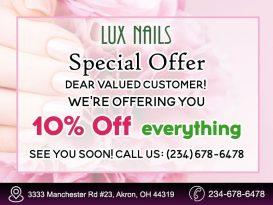Nail salon Akron, OH 44319