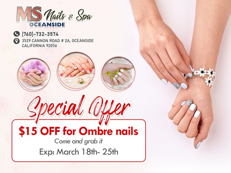  Nail salon Oceanside CA 92056