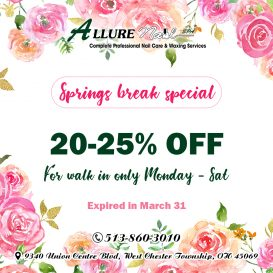 Nail salon 45069 | Allure Nail Spa | West Chester Township OH 45069