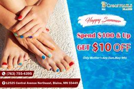 Great Nails - Nail salon Blaine Town Center Blaine MN 55449