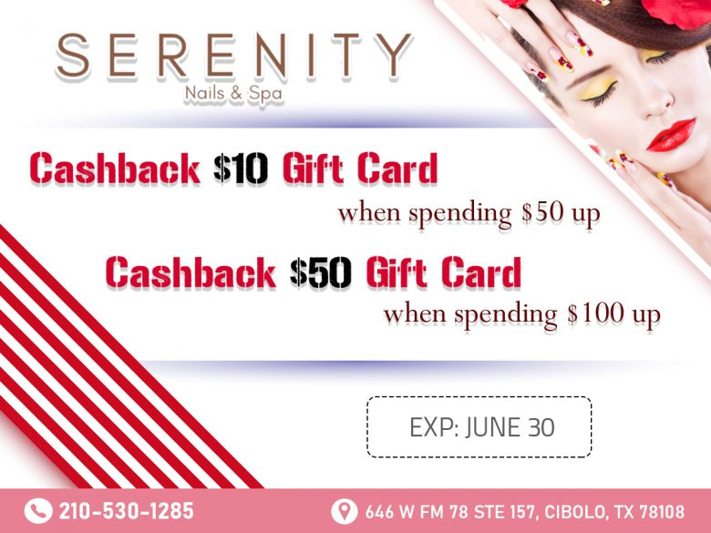 Serenity Nails & Spa - Nail salon near me Cibolo TX 78108