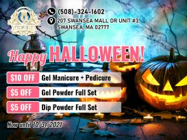 Q Nails & Spa - Promotion Happy Halloween for people in Swansea